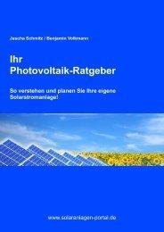 Jascha Schmitz / Benjamin Volkmann Ihr ... - Solaranlagen-Portal.de