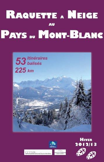 Raquette à Neige Pays du MoNt-BlaNc - Chamonix