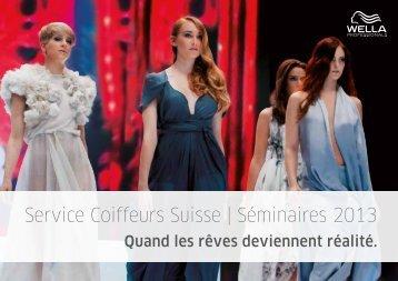 Service Coiffeurs Suisse | Séminaires 2013 - P&G Salon Professional