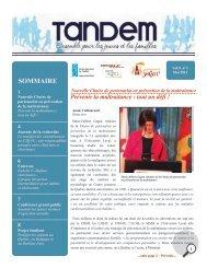 Tandem - Faculté des sciences sociales - Université Laval