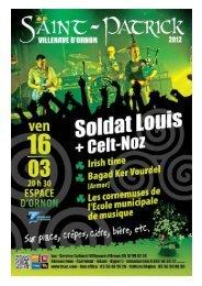 Fête de la St Patrick avec Soldat Louis - Celt'noz ... - Villenave d'Ornon