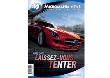Noël 2010 s'annonce d'ores et déjà comme - Micromania