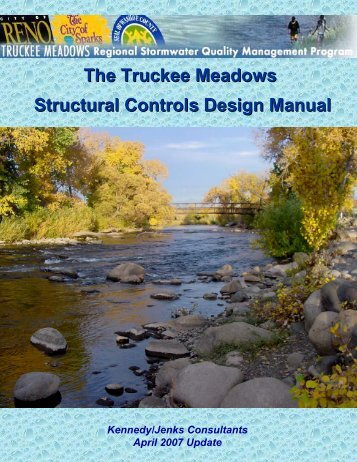 The Truckee Meadows Structural Controls Design ... - City of Sparks