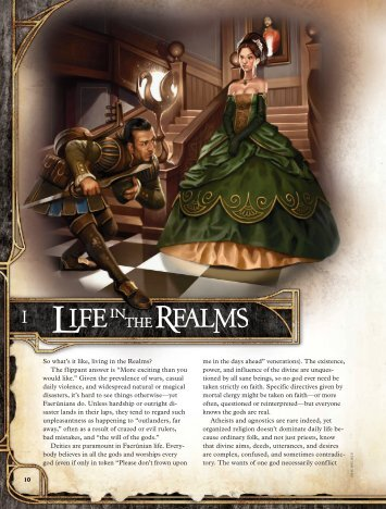 "So what's it like, living in the Realms? The flippant answer is ""More ..."