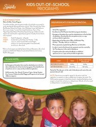 Kids out-of-school programs - city of sparks, nevada