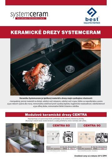 KERAMICKÉ DREZY SYSTEMCERAM - BEST