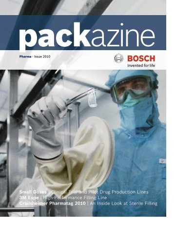 Pharma - Bosch Packaging Technology