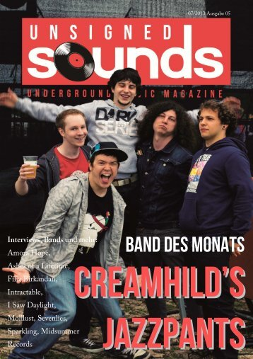 Unsigned Sounds - Underground Music Magazine, Ausgabe 05