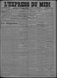 27 Juillet 1913 - Bibliothèque de Toulouse