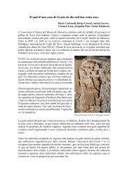 El pati d'una casa de fa més de 2 - Consell Insular de Menorca