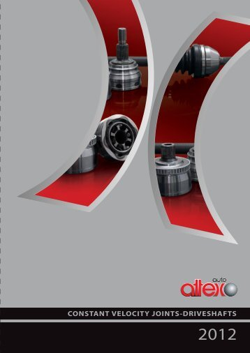 CONSTANT VELOCITY JOINTS-DRIVESHAFTS - Attex