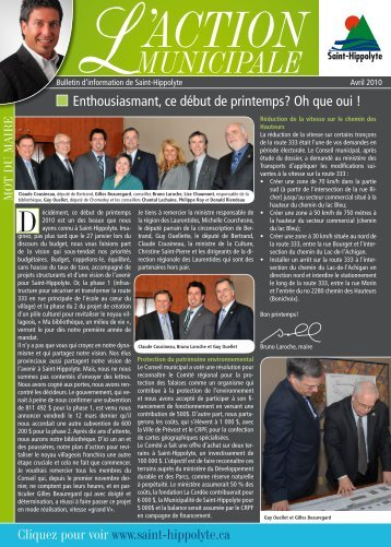 Bulletin municipal - Sentier