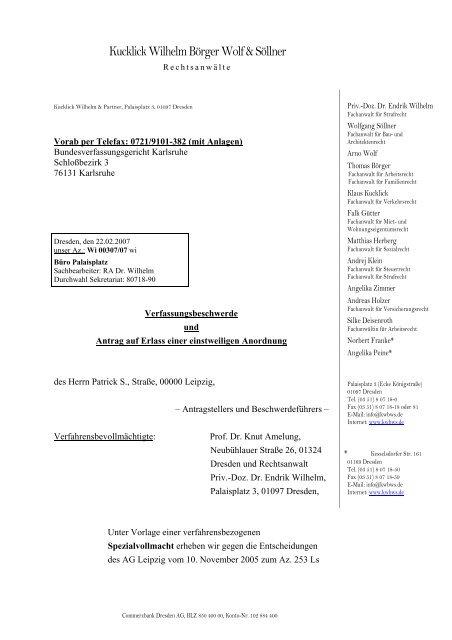 Verfassungsbeschwerde Pdf Free Download 12
