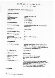 Verslag I - Cleerdin & Hamer Advocaten