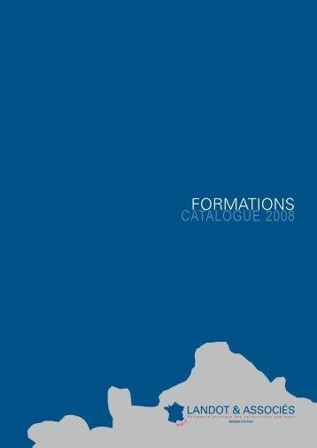 Nos Formations - Cabinet Landot & associés