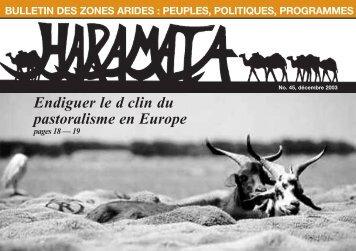Endiguer le d clin du pastoralisme en Europe - IIED pubs