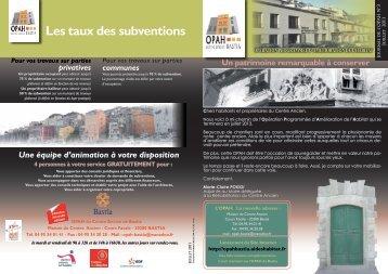 journal opah_3.pdf - OPAH – Bastia - AidesHabitat.fr