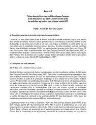 Annexes 1, 2 et 3 - Agri-Réseau
