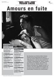 Programme en pdf - Passion Cinéma