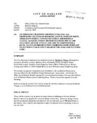 View Report.pdf - City of Oakland