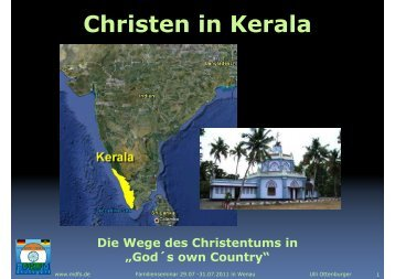 Christen in Kerala