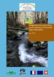 Diagnostic des cours d'eau sur le territoire de la METRO