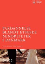 Pardannelse blandt etniske minoriteter i Danmark - SFI