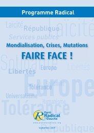 République - Parti Radical de Gauche PRG