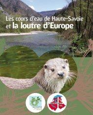 Les cours d'eau de Haute-Savoie et la Loutre d'Europe