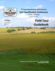 Nebraska Soils Field Trip - Virginia Tech