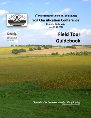 Nebraska Soils Field Trip - Virginia Tech