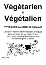 VIVRE SANS MANGER LES ANIMAUX - Association Végétarienne ...