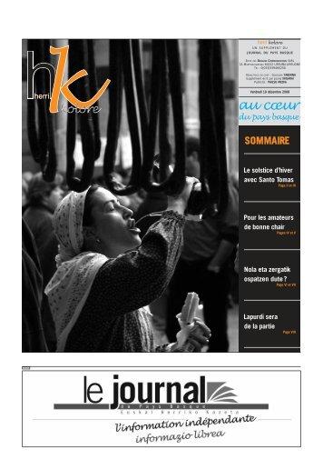 santo tomas - Le Journal du Pays Basque