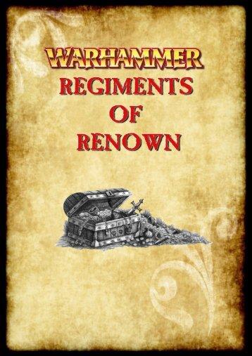 Regiments of Reknown - Coreheim