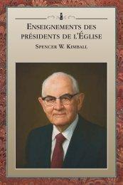 Enseignements des présidents de l'Église - The Church of Jesus ...