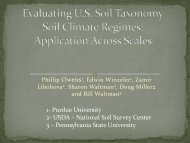 Evaluating the US Soil Taxonomy Soil Moisture Regimes