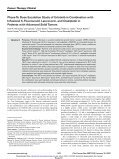Phase 1b Dose Escalation Study of Erlotinib in Combination with ... - Page 2