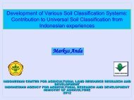 Development of Various Soil Classification Systems
