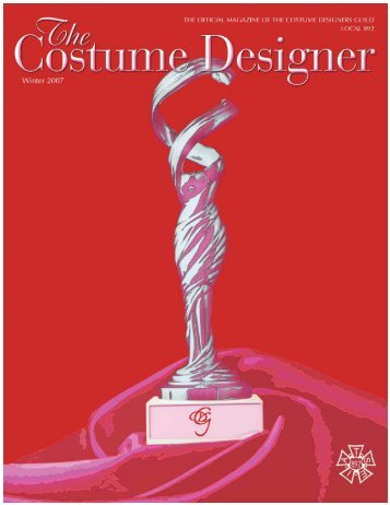 The Costume Designer - Costume Designers Guild IATSE Local 892