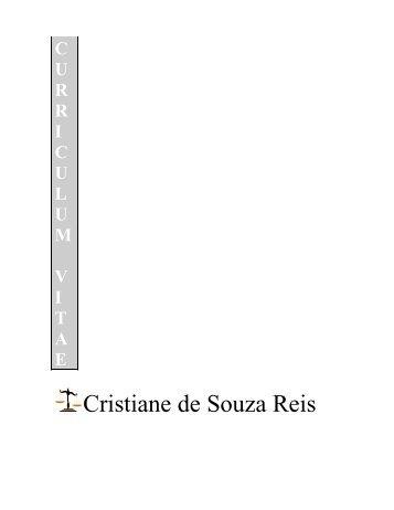 Cristiane de Souza Reis