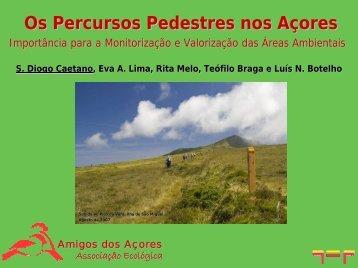 Os Percursos Pedestres nos Açores