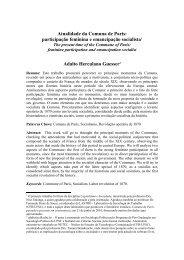 Atualidade da Comuna de Paris: participação feminina e ...