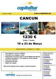 CANCUN 1230 €