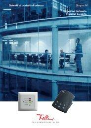 Sistema di richiesta d'udienza Giugno 06 Stazione da tavolo ...
