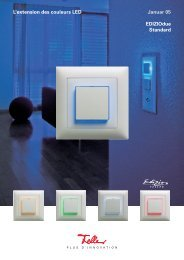 L'extension des couleurs LED Januar 05 EDIZIOdue Standard