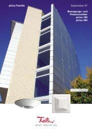 Bewegungsmelder pirios 360 R (MASTER) - Feller Clixx - Feller AG