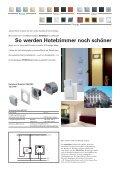 Hotelcard-Schalter Januar 05 Ausführung 230 VAC Ausführung EIB ... - Seite 3