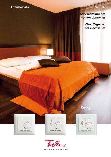 Thermostats Avril 09 Servocommandes ... - Feller Clixx