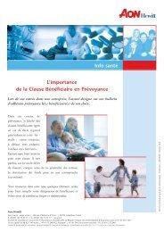 Newsletter N°5 - Courtage d'assurances et de réassurances, conseil ...