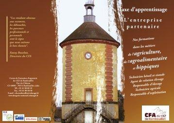 Dépliant coop - Bergerie Nationale de Rambouillet - Educagri